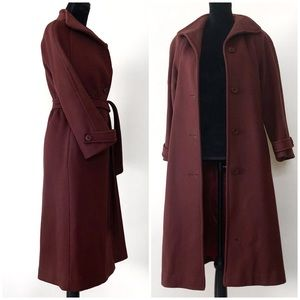 Vintage | Sears Long Wool Wrap Peacoat